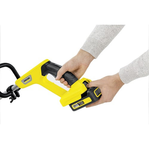 Karcher Battery Powered Lawn Trimmer 18 30 Machine Only Detailed Image 1
