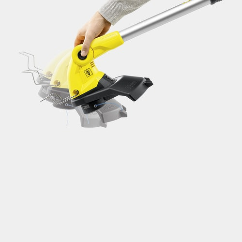 Karcher Battery Powered Lawn Trimmer 18 30 Machine Only Detailed Image 2
