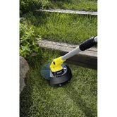 Karcher Battery Powered Lawn Trimmer 18 30 Machine Only Lifestyle 1