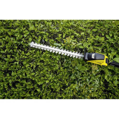 Karcher Battery Powered Pole Hedge Trimmer 18 45 Degree Machine Only Lifestyle 6