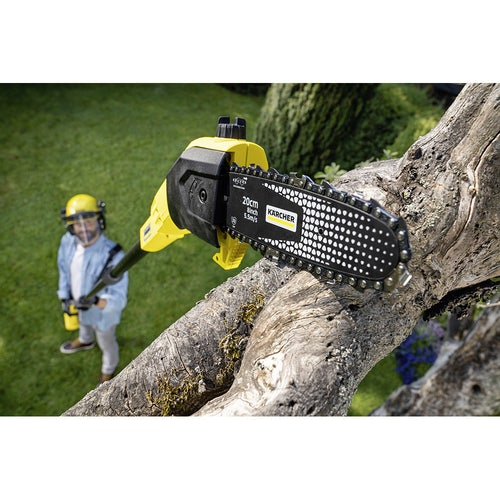Karcher Battery Powered Pole Saw 18 20 Machine Only Lifestyle 1