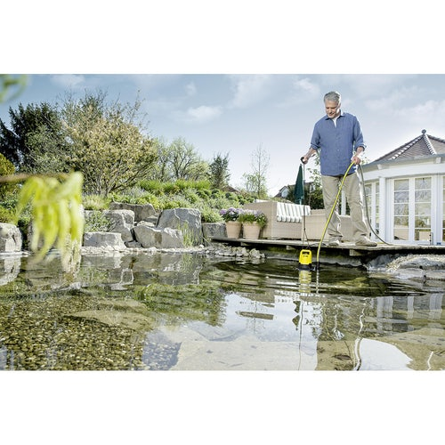 Karcher SP 3 Dirty Water Drainage Pump Lifestyle 1