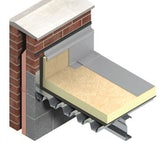 TR27 Flat Roof Insulation by Kingspan Thermaroof 130mm - 2.16m2 Pack