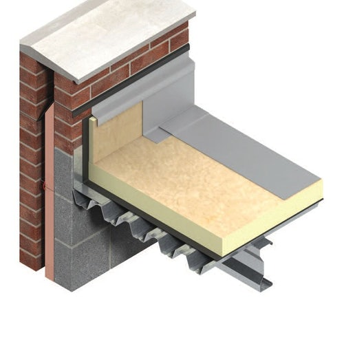 TR27 Flat Roof Insulation by Kingspan Thermaroof 80mm - 4.32m2 Pack