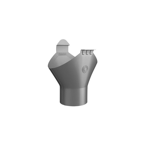 lindab magestic galvanised steel gutter outlet half round