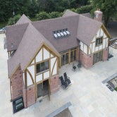 marley canterbury plain clay rooftile installed