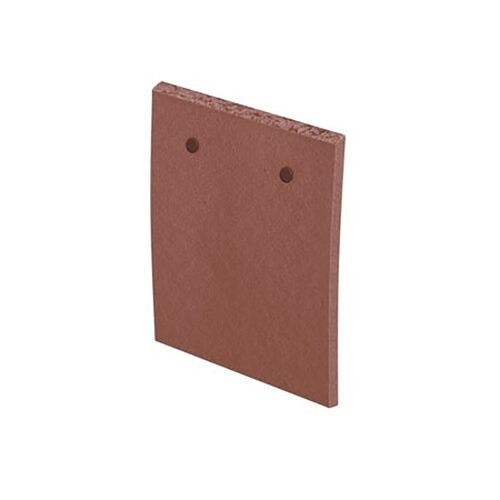 marley clay plain acme single camber eaves tile red smooth