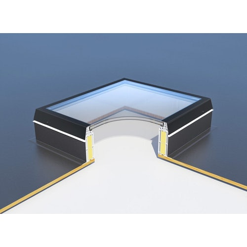 roofing flat glass rooflight
