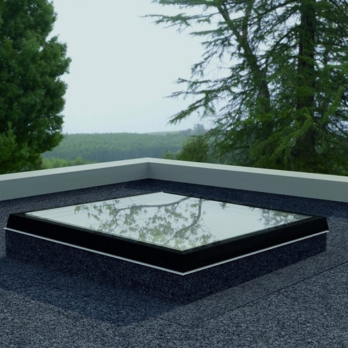 roofing superstore flat glass rooflight