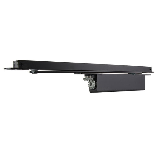 Rutland ITS.11204 Concealed Cam Action FD120 Fire Rated Door Closer with SA Connector Bar Black