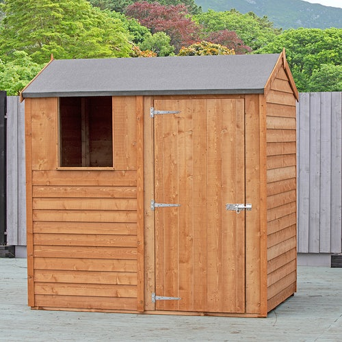 shire begonia overlap reverse apex shed 6ft 4ft 2
