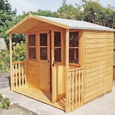 shire houghton summerhouse 7ft x 7ft 3