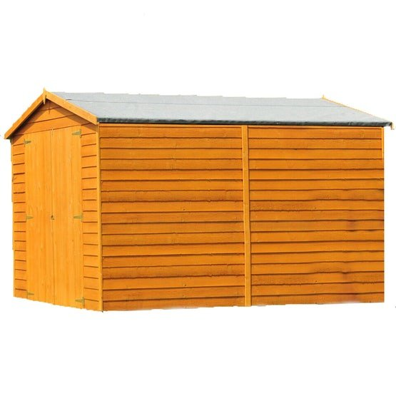 shire overlap apex shed 10ft x 8ft 1