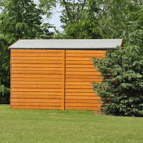 shire overlap apex shed 10ft x 8ft 3