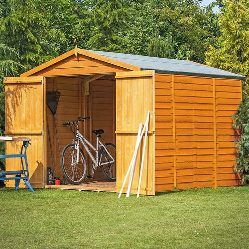 shire overlap apex shed 12ft 6ft3