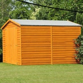 shire overlap apex shed 12ft 8ft 2