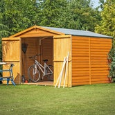shire overlap apex shed 12ft 8ft 4