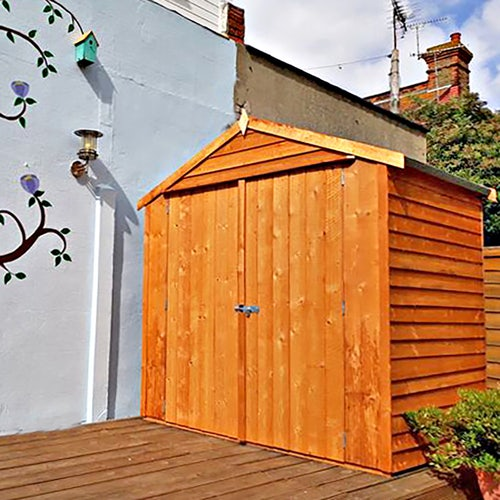 shire overlap apex shed 4ft x 6ft 1830mm x 1190mm1