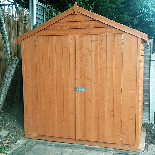 shire overlap apex shed 4ft x 6ft 1830mm x 1190mm4
