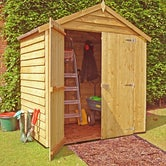 shire overlap apex shed 4ft x 6ft 1830mm x 1190mm5