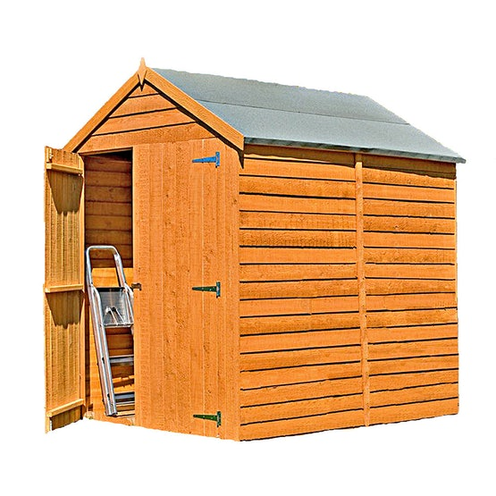 shire overlap apex shed 6ft x 6ft 1