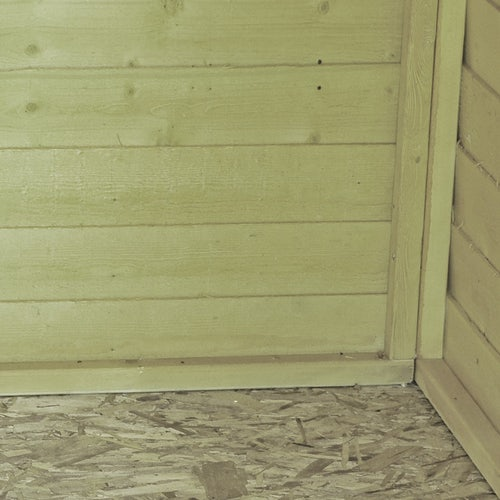 shire pressure treated overlap apex shed 8ft x 6ft 5