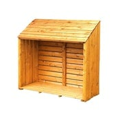 Shire Small Pent Log Store - 5ft x 2ft (1510mm x 570mm)