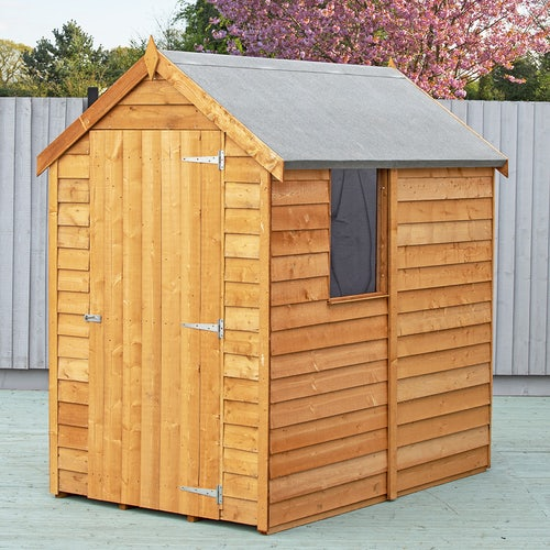 shire super value window overlap apex shed 6ft x 4ft2