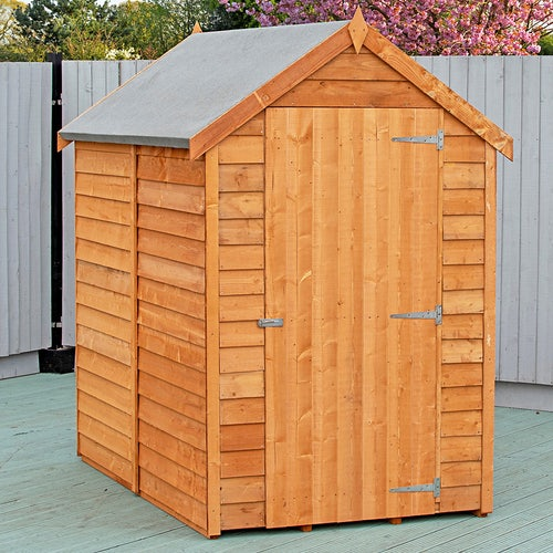shire super value window overlap apex shed 6ft x 4ft3