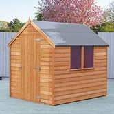 shire super value window overlap apex shed 7ft x 5ft 3