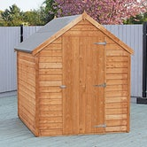shire super value window overlap apex shed 8ft x 6ft 4