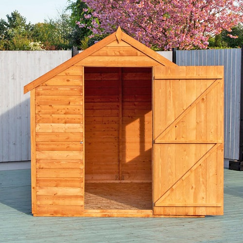 shire super value window overlap apex shed 8ft x 6ft 5