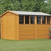 shire window overlap apex shed 10ft 6ft 2