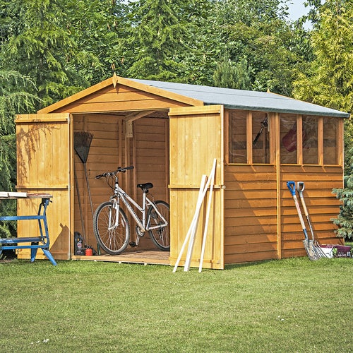 shire window overlap apex shed 10ft 8ft 3
