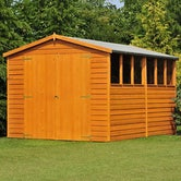 shire window overlap apex shed 12ft x 8ft 3