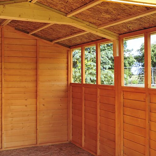 shire window overlap apex shed 12ft x 8ft 7