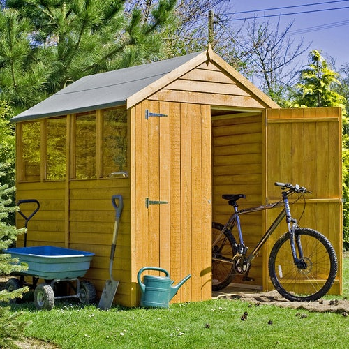 shire window overlap apex shed 7ft x 5ft 2