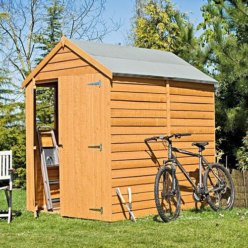 shire window overlap apex shed 7ft x 5ft 3
