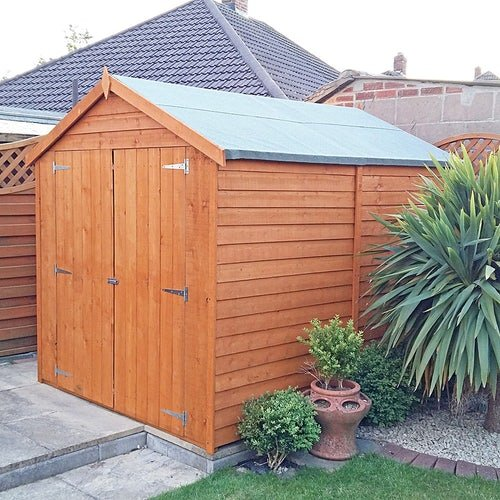 shire window overlap apex shed 8ft 6ft 2