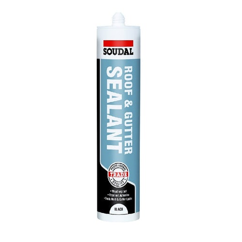soudal roof and gutter sealant