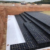 stormmaster lite soakaway and attenuation crate installation 4