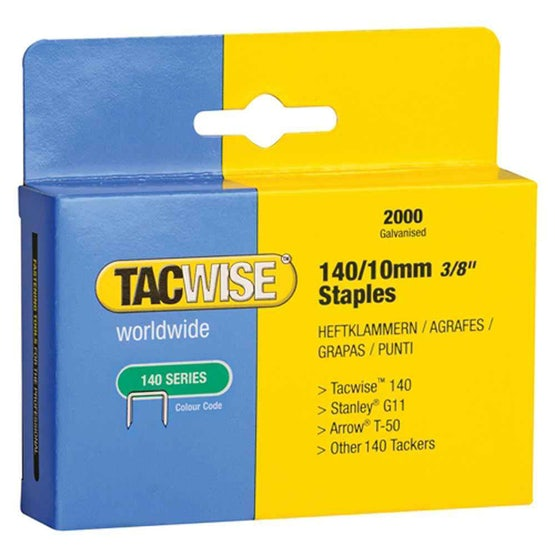 Tacwise 140 Staples 2000 Box 10mm