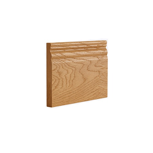 Deanta Oak Pre-Finished Traditional Skirting - Pack of 4
