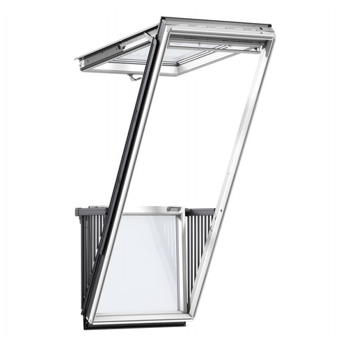 velux cabrio balcony system internal view