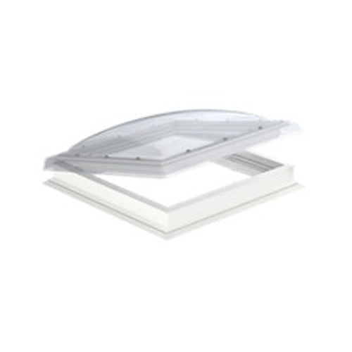 velux cvp manual opening polycarbonate flat roof window