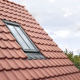 velux edj recessed tile flashing and conservation window