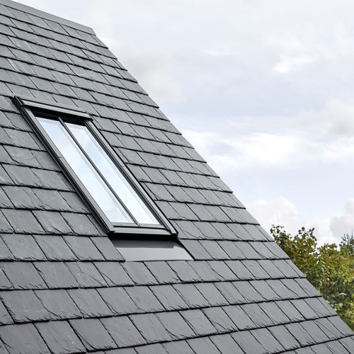 velux edn recessed slate flashing and conservation window