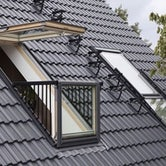 velux gdl sd0l001 cabrio balcony system for slates installed