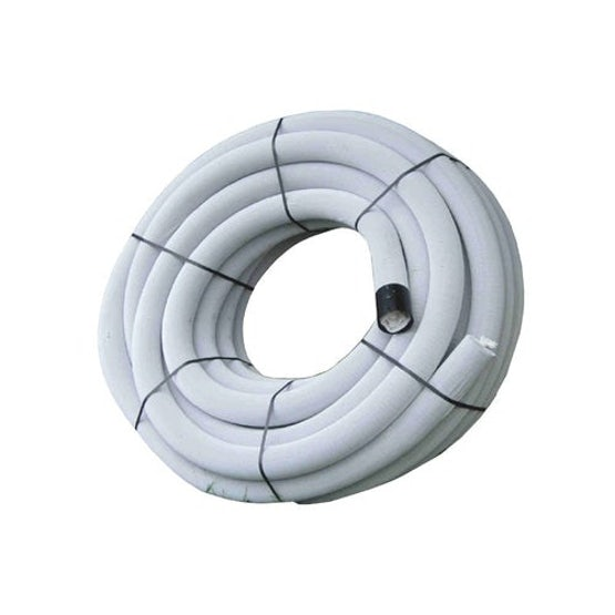 wrapped land drain coil