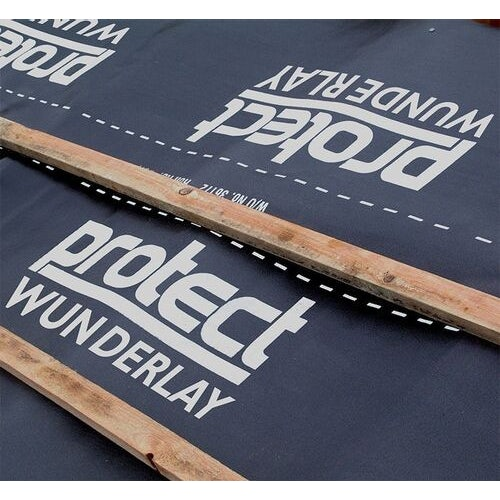 wunderlay impermeable felt hr roofing underlay by protect   45m x 1m 200261